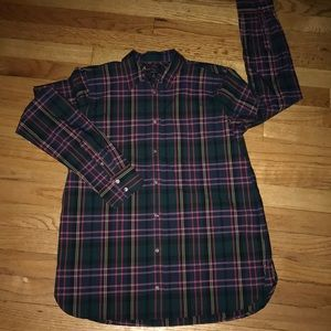J crew classic button up